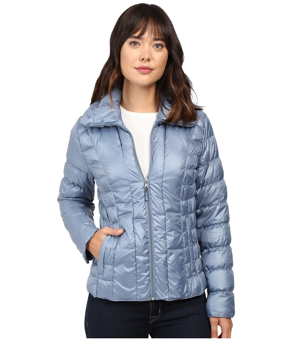 Kenneth Cole New York Quilted Puffer Jacket (Steel) Women