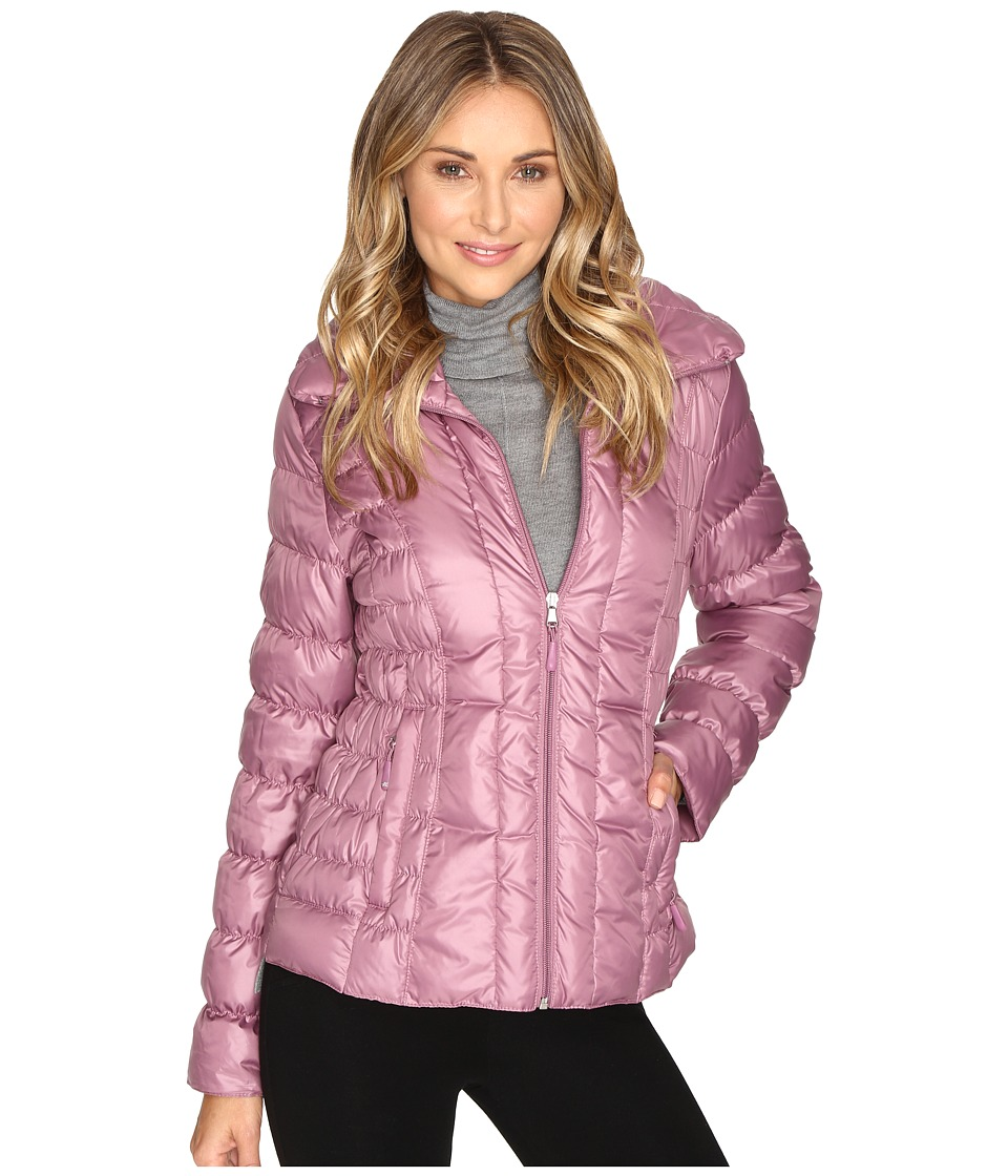 Kenneth Cole New York Quilted Puffer Jacket (Mauve) Women