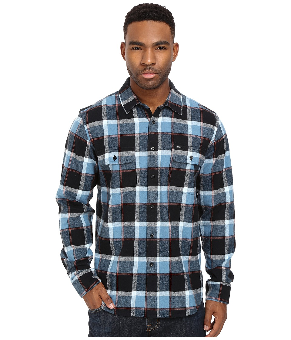 Obey - Gower Woven (Blue Multi) Men's Clothing