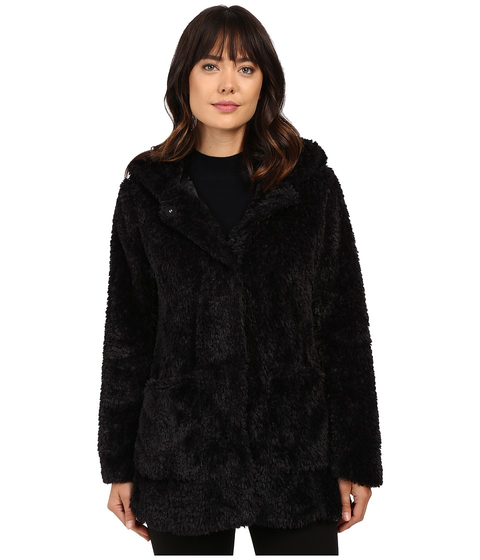 Kenneth Cole New York - Leisure Coat (Black) Women's Coat