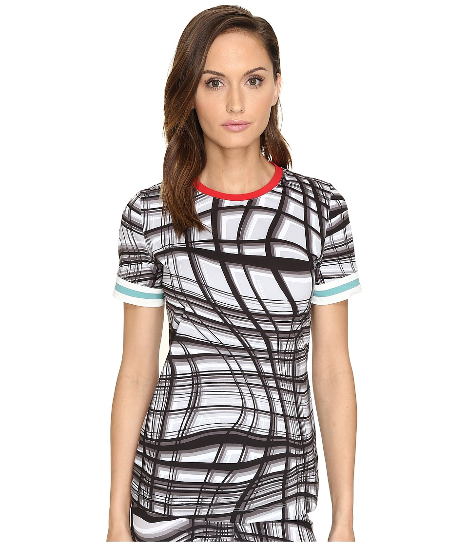 NO KA'OI - Nana T-Shirt (Gray Print) Women's T Shirt