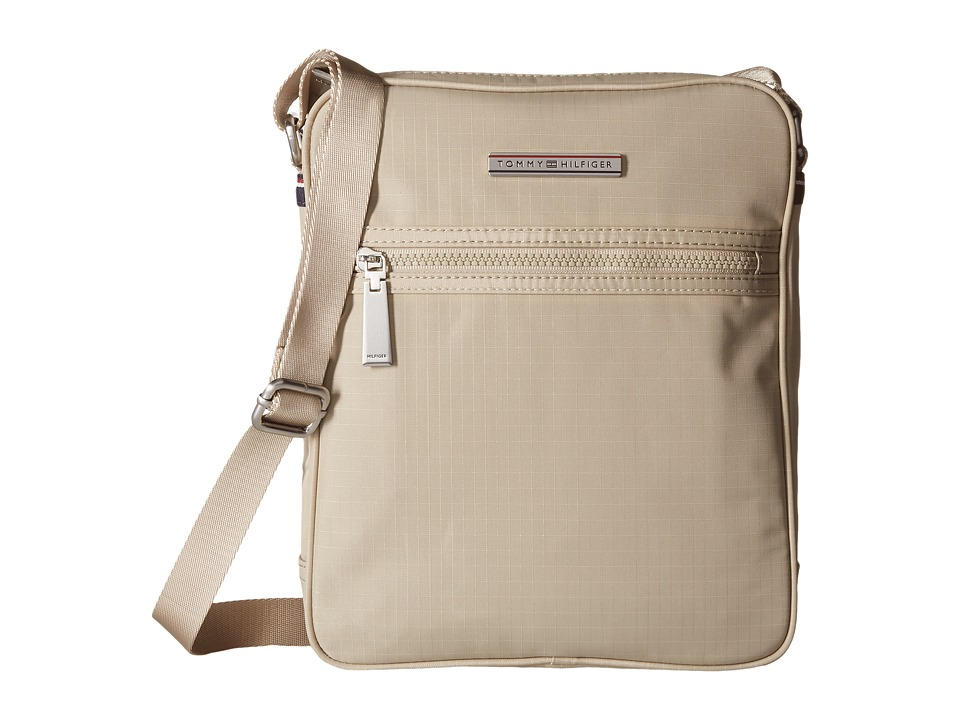 Tommy Hilfiger - Jasper - Ripstop Nylon Slim Reporter (Khaki) Bags