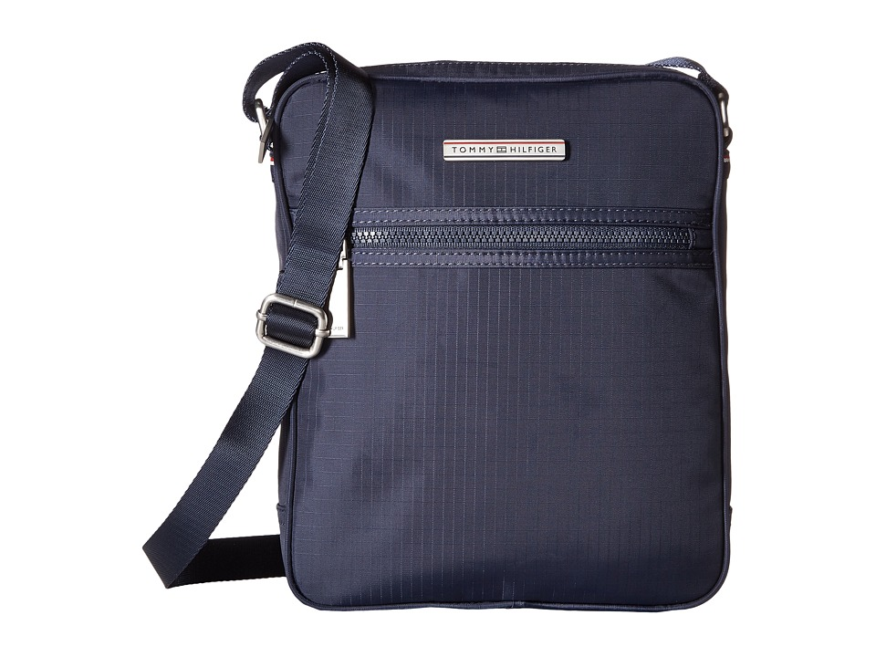 Tommy Hilfiger - Jasper - Ripstop Nylon Slim Reporter (Navy) Bags