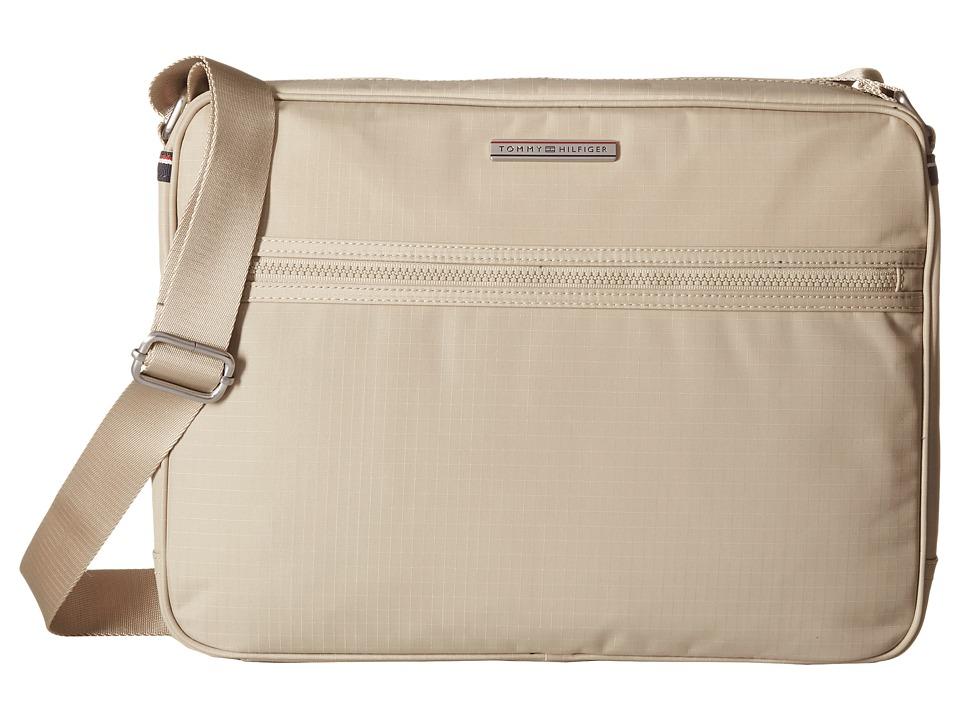 Tommy Hilfiger - Jasper - Ripstop Nylon Messenger (Khaki) Messenger Bags