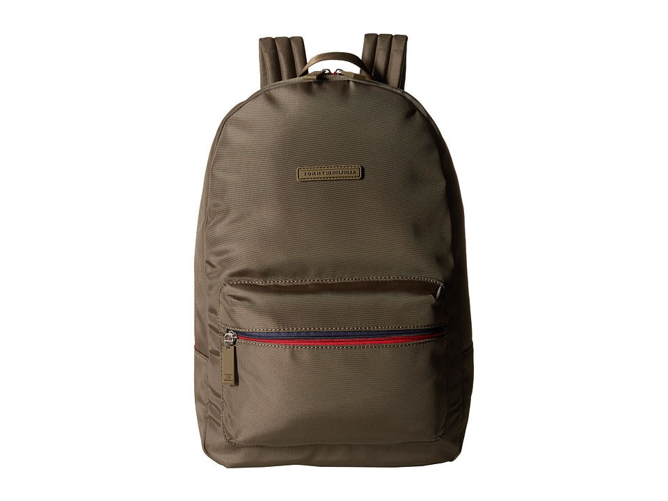 Tommy Hilfiger - Item Backpack (Military Green) Backpack Bags