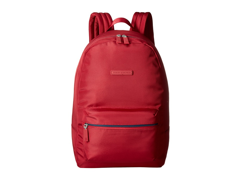 Tommy Hilfiger - Item Backpack (Red) Backpack Bags