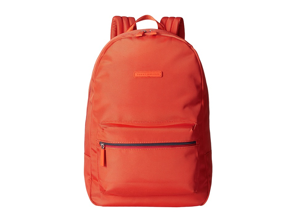 Tommy Hilfiger - Item Backpack (Como Orange) Backpack Bags