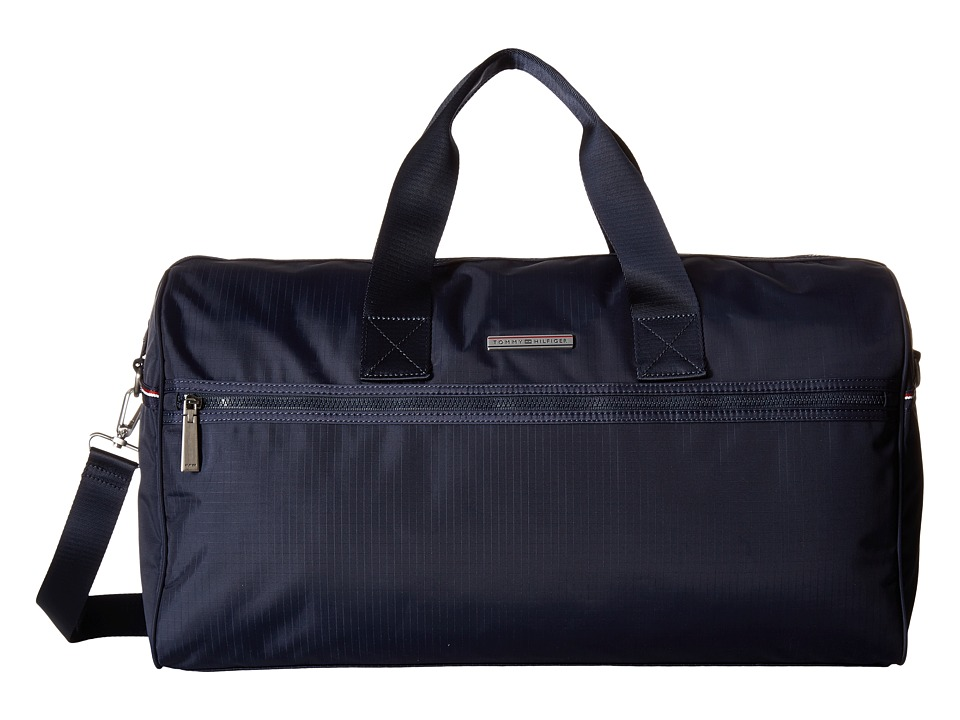 Tommy Hilfiger - Jasper - Ripstop Nylon Weekender (Navy) Weekender/Overnight Luggage