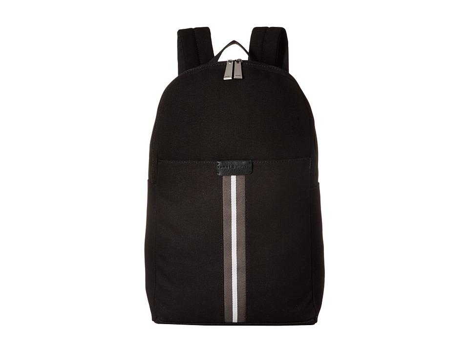 Tommy Hilfiger - Elijah - Canvas w/ PVC Trim Backpack (Black) Backpack Bags