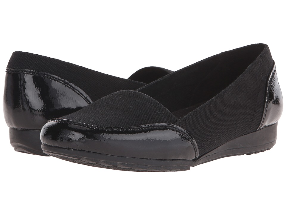 SKECHERS - Rome - Alla Moda (Black) Women's Slip on Shoes