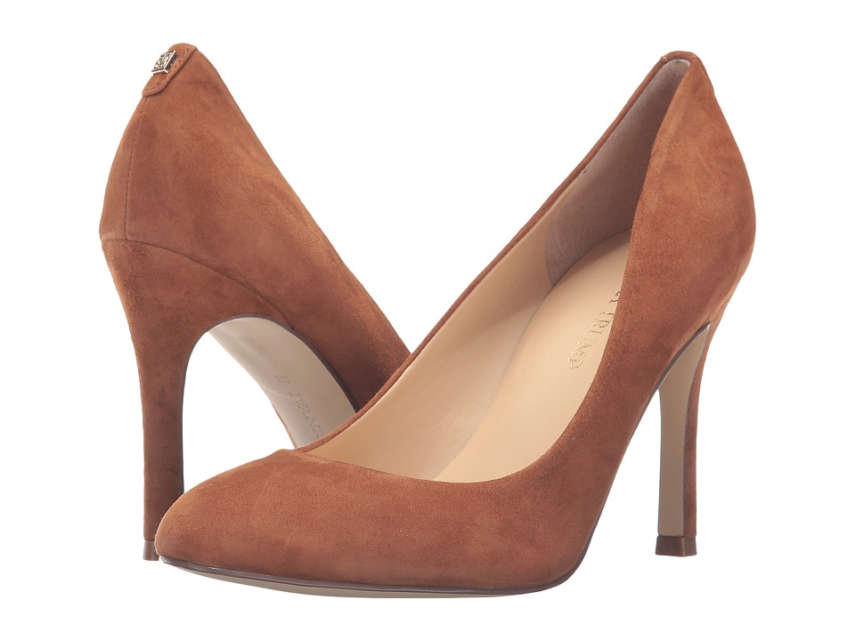 Ivanka Trump - Janie 4 (Dark Natural Suede) High Heels