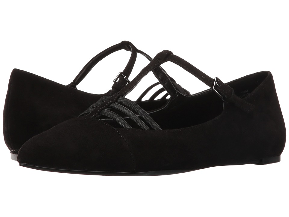 Nine West - Wright (Black Suede) Women's Shoes