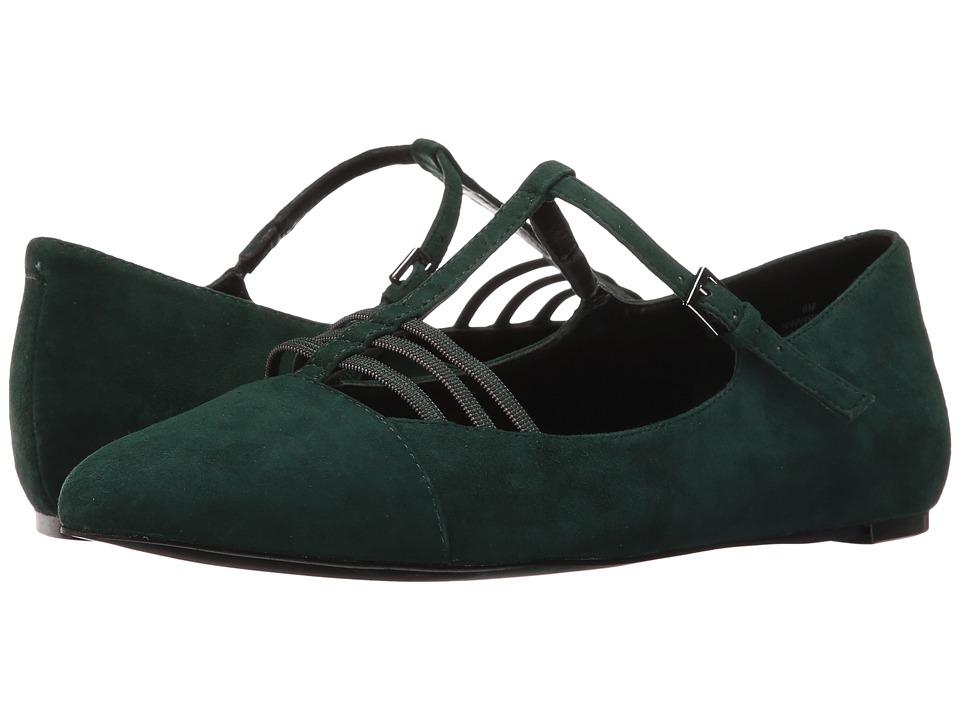 Nine West - Wright (Dark Green Suede) Women's Shoes