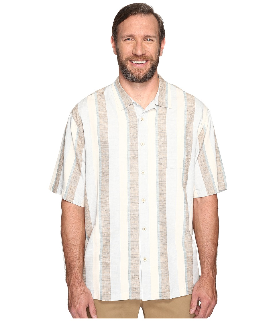 Tommy Bahama Big & Tall - Big Tall Cubano Boy Woven Shirt (Azzurro) Men's Clothing