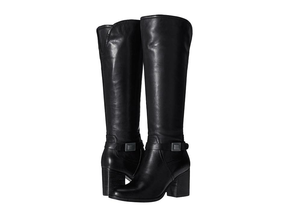 Franco Sarto - Arlette (Black Leather) Women's Boots