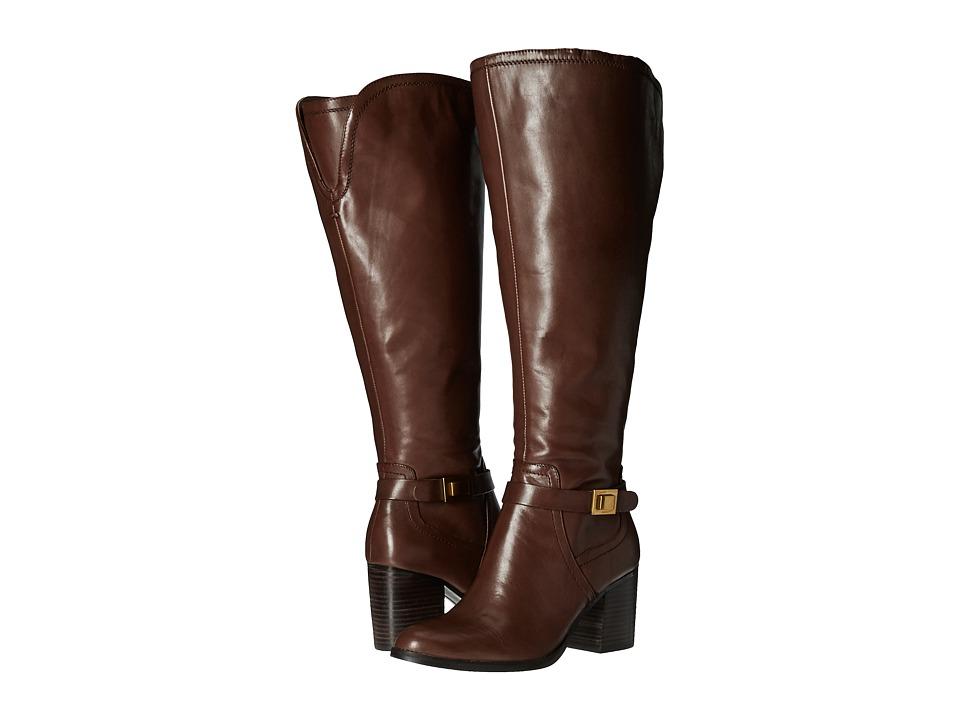 Franco Sarto - Arlette Wide Calf (Brown) Women's Boots