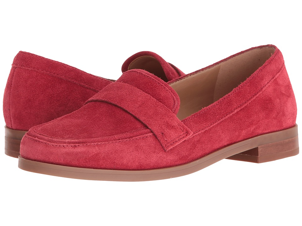 Franco Sarto - Valera (Red Suede) Women's Slip-on Dress Shoes