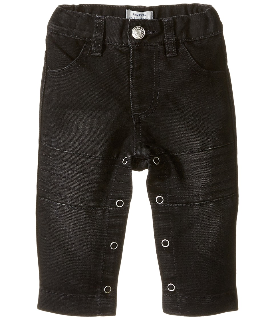 Pumpkin Patch Kids - Knee Panel Jeans (Infant) (Black Denim) Boy's Jeans
