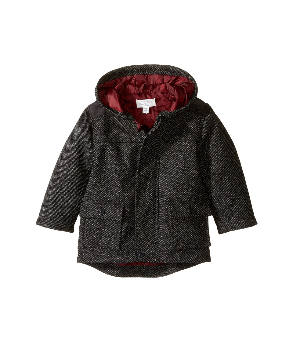Pumpkin Patch Kids Parker Jacket (Infant) (Phantom) Boy