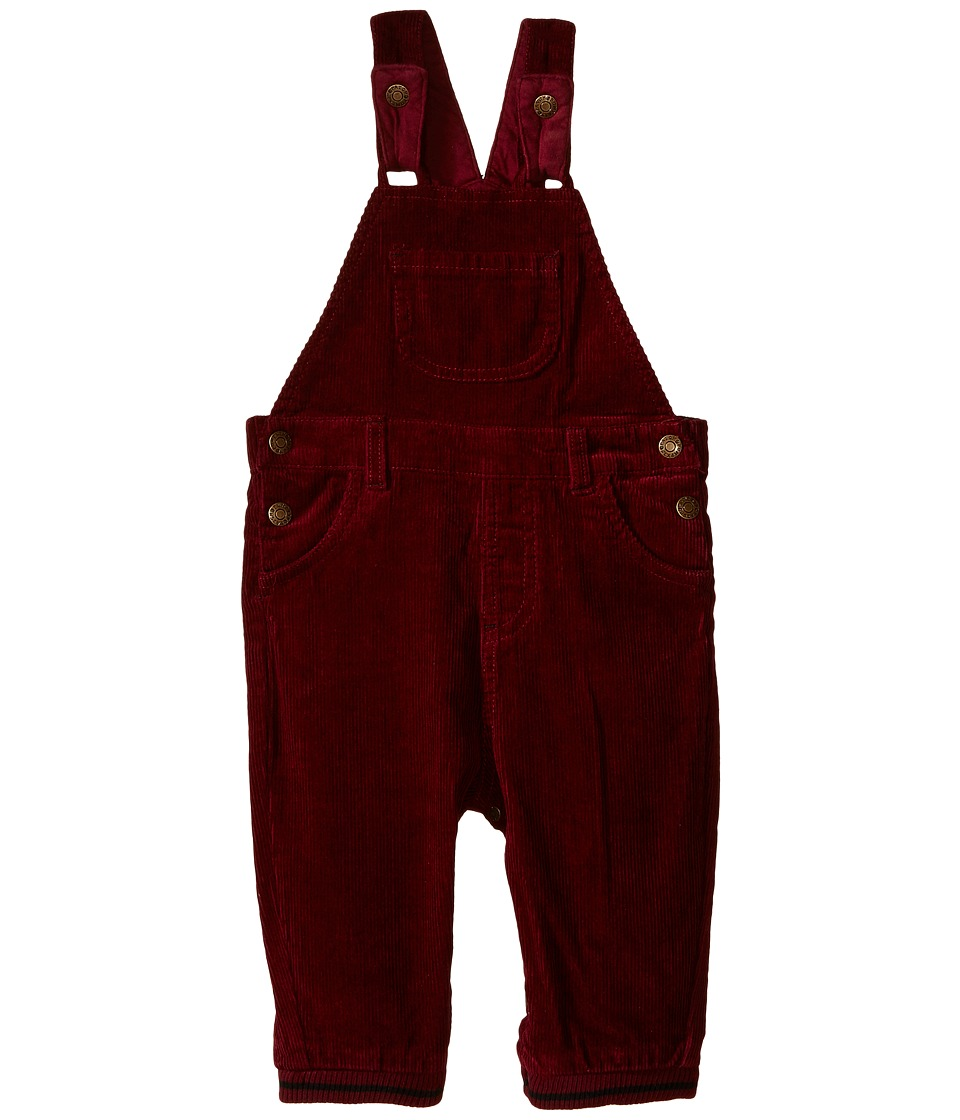 Pumpkin Patch Kids - Washed Cord Jeans (Infant) (Zinfandel) Boy's Overalls One Piece