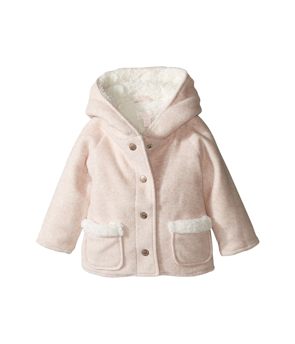 Pumpkin Patch Kids - Duffle Jacket (Infant) (Powder Pink) Girl's Coat