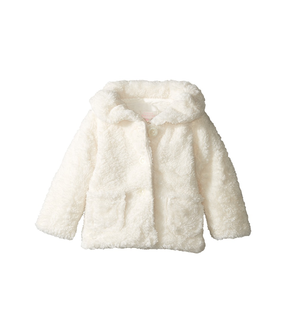 Pumpkin Patch Kids - Fluffy Jacket (Infant) (French Vanilla) Girl's Coat