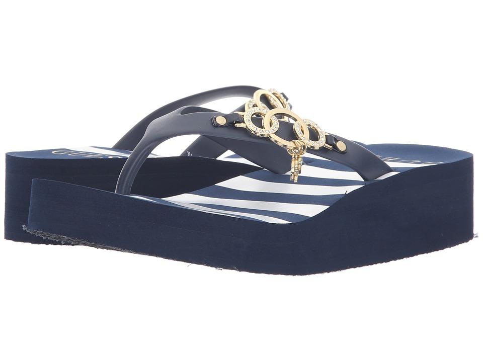 GUESS - Abbie (Navy/Navy) Women's Sandals