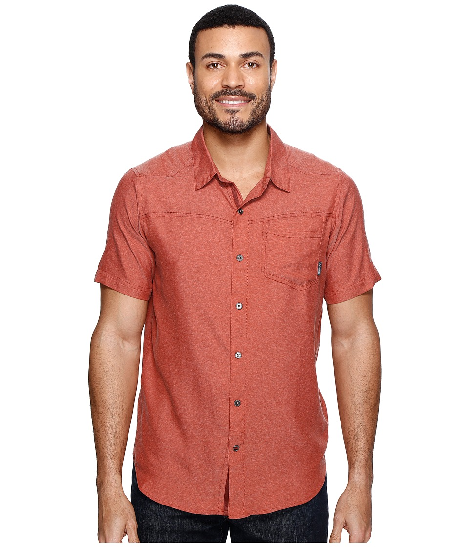 Columbia - Pilsner Peak II Short Sleeve Shirt (Rusty) Men's Short Sleeve Button Up