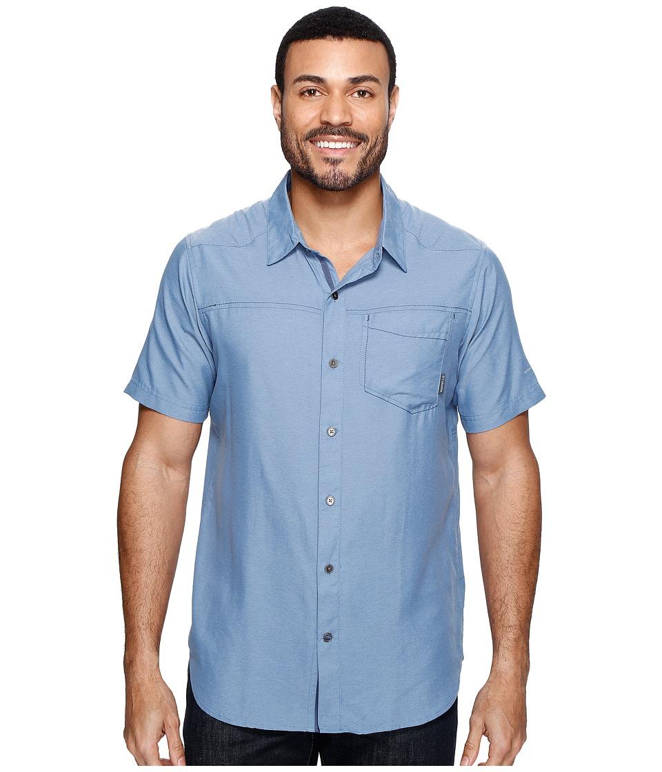 Columbia - Pilsner Peak II Short Sleeve Shirt (Steel) Men's Short Sleeve Button Up