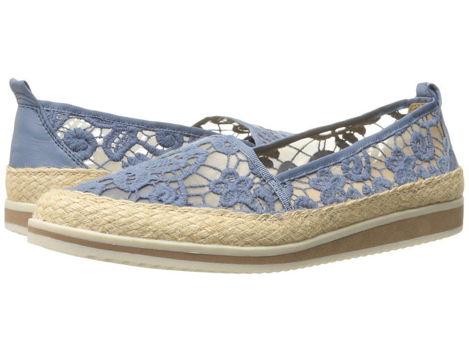 Naturalizer - Davenport (Blue/Ivory) Women's Shoes