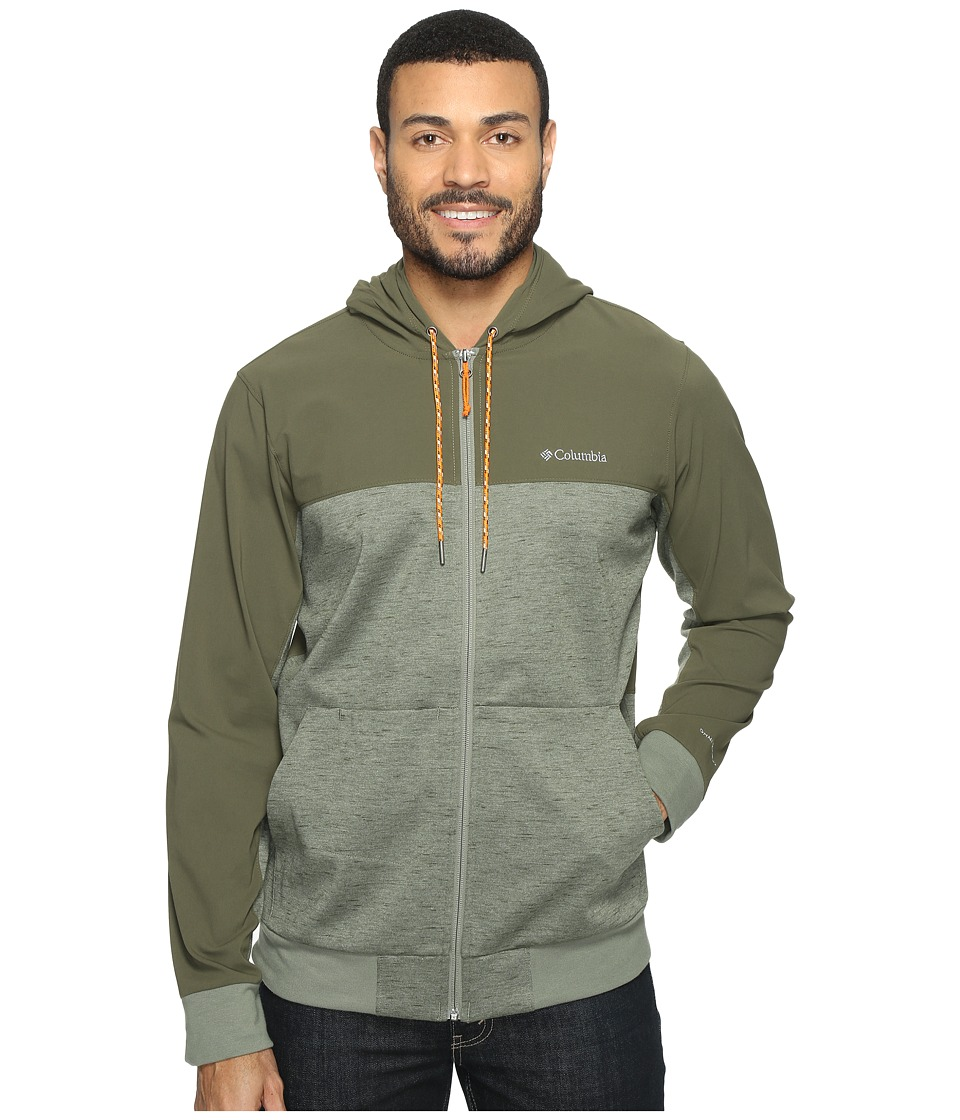 Columbia - Lost Lager Hoodie (Cypress/Peatmoss/Valencia) Men's Sweatshirt