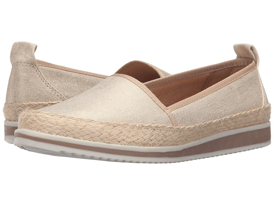 Naturalizer - Davenport (Metallic Linen/Gold Metallic) Women