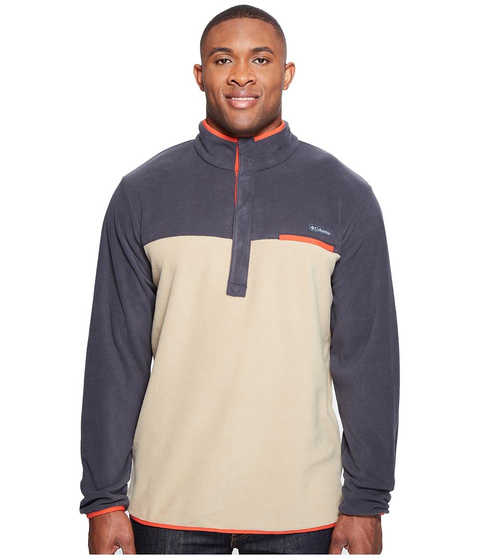 Columbia - Mountain Side Fleece Jacket - Tall (British Tan/Shark/Super Sonic) Men's Coat