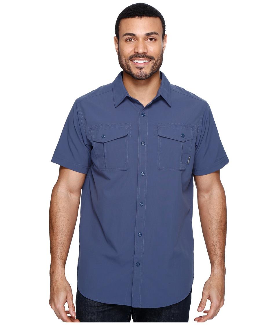 Columbia - Twisted Divide Short Sleeve Shirt (Zinc) Men's Short Sleeve Button Up