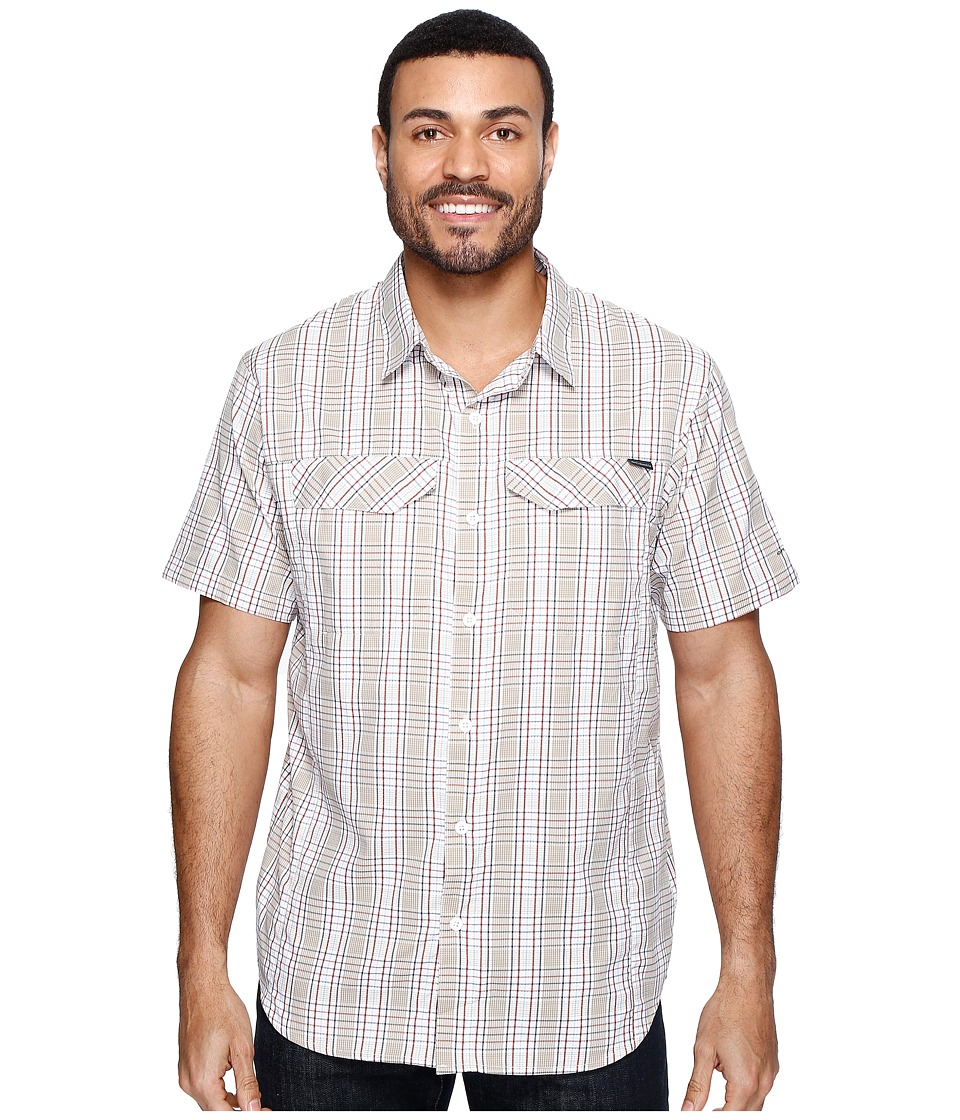 Columbia - Silver Ridge Lite Plaid Short Sleeve Shirt (British Tan Plaid) Men's Short Sleeve Button Up