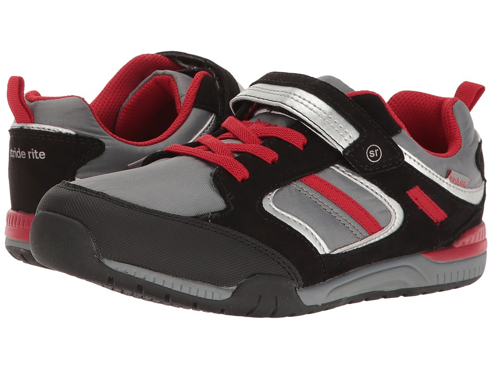 Stride Rite - M2P Dwyer (Little Kid) (Grey) Boy's Shoes