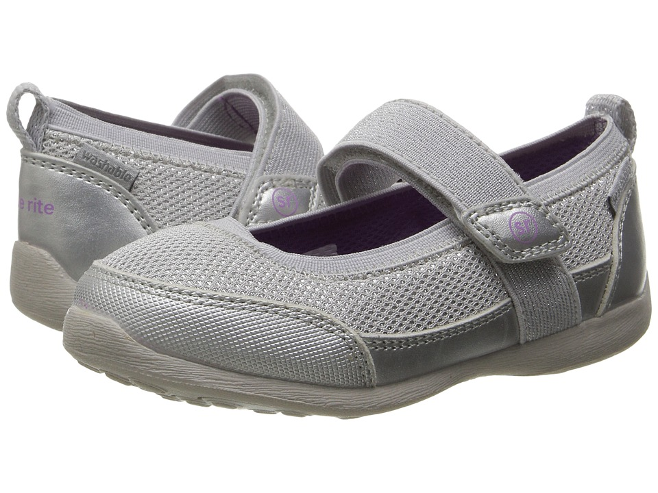 Stride Rite - Made 2 Play Tilly (Toddler) (Silver 1) Girl's Shoes