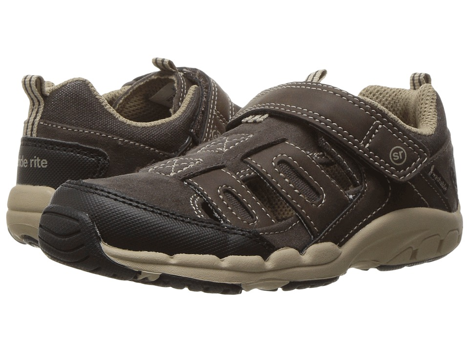 Stride Rite - Made 2 Play Baby Allen (Toddler) (Brown) Boy's Shoes