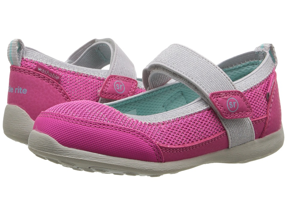 Stride Rite - Made 2 Play Tilly (Toddler) (Pink) Girl's Shoes