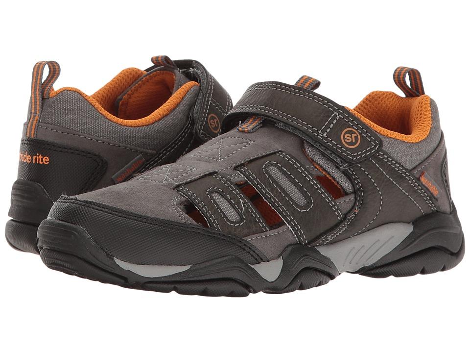 Stride Rite - Made 2 Play Allen (Little Kid) (Grey) Boy's Shoes