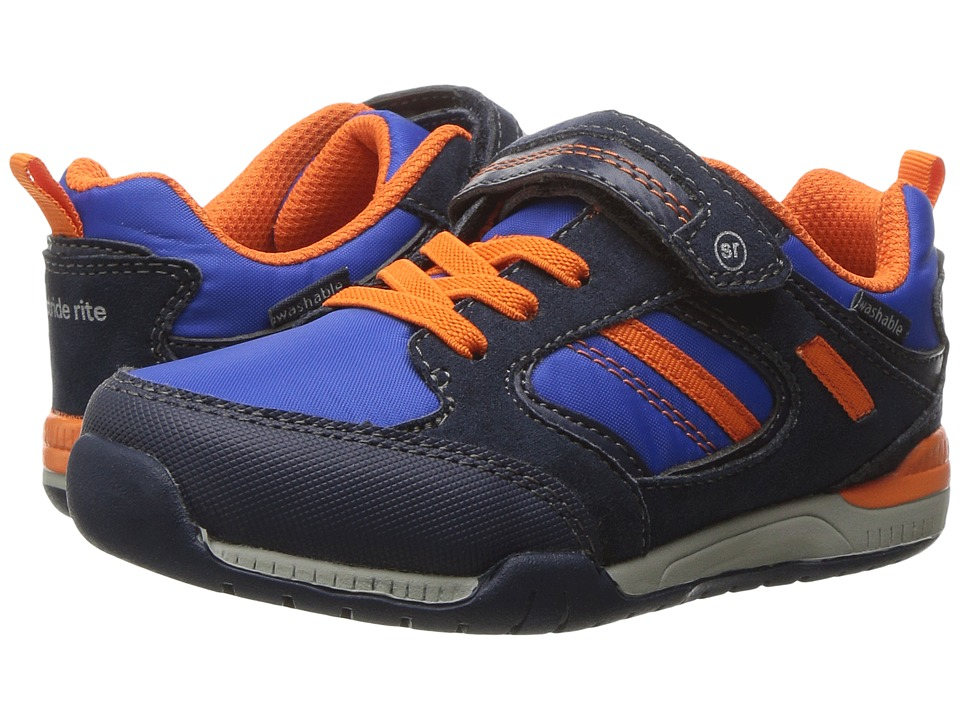 Stride Rite - Made 2 Play Dwyer (Toddler) (Navy) Boy's Shoes