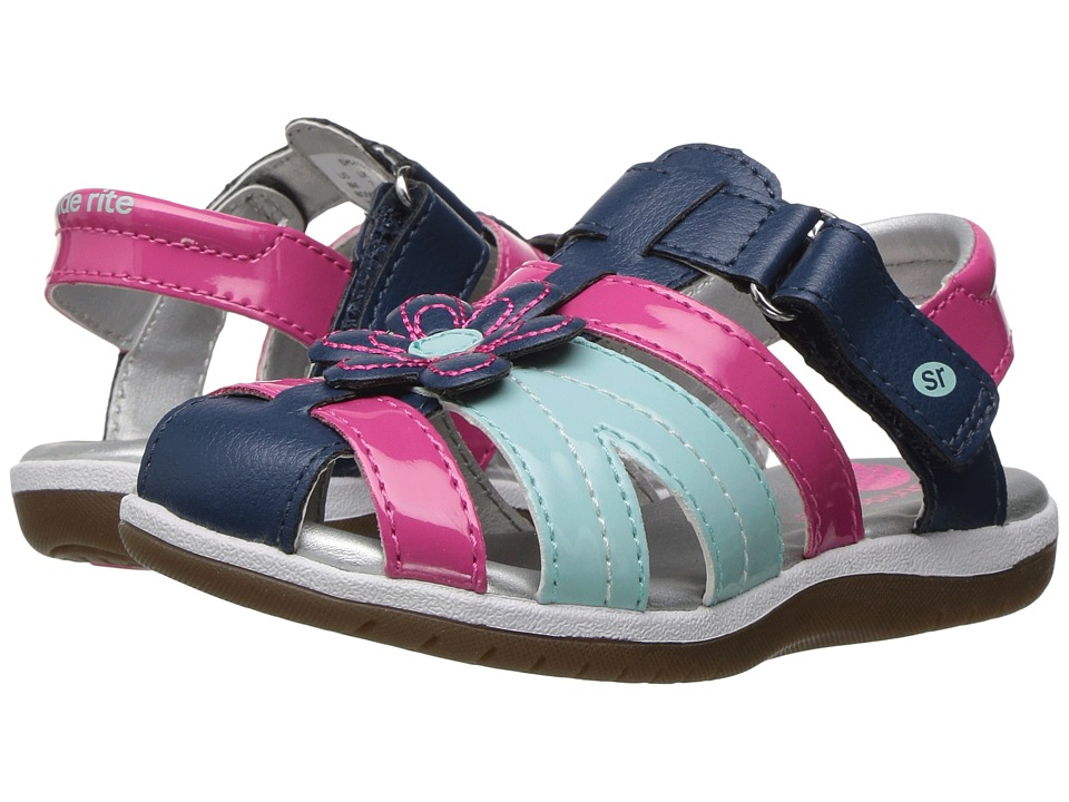 Stride Rite - Kiernan (Toddler/Little Kid) (Navy Multi) Girl's Shoes