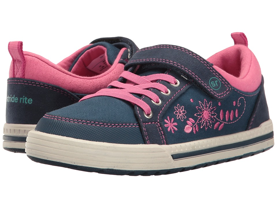 Stride Rite - Made 2 Play Maxwell (Little Kid) (Navy) Girl's Shoes