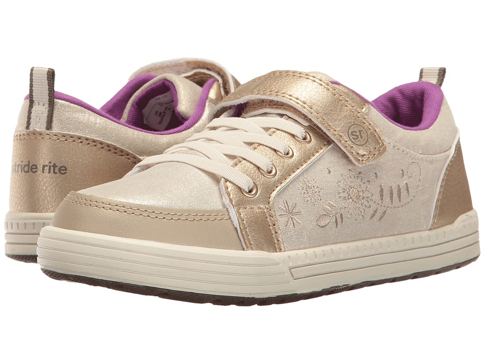Stride Rite - Made 2 Play Maxwell (Little Kid) (Gold) Girl's Shoes