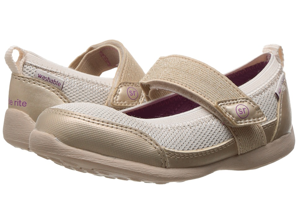 Stride Rite - Made 2 Play Tilly (Toddler) (Champagne) Girl's Shoes