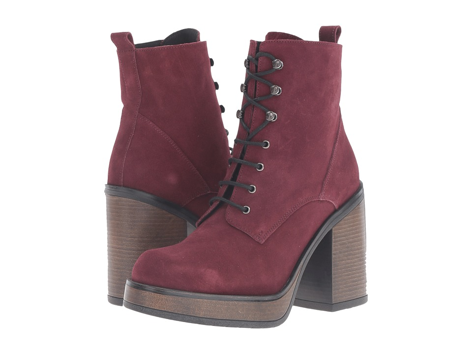 Shellys London Kayla (Burgundy) Women