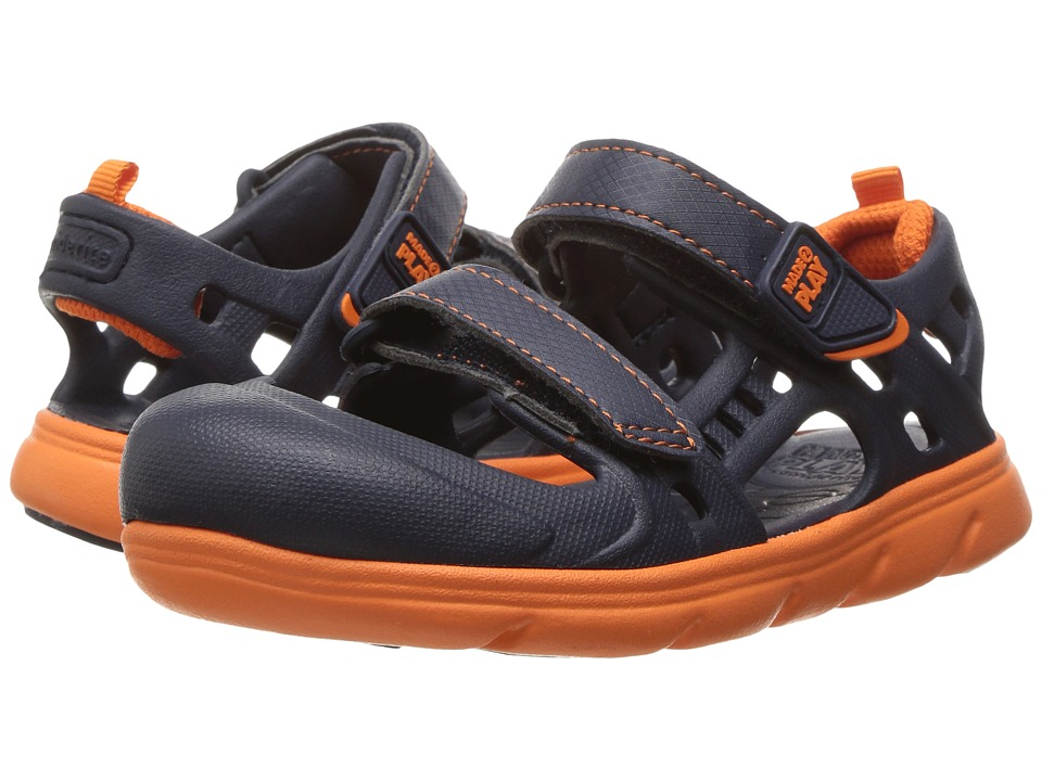 Stride Rite - Made 2 Play Phibian (Toddler) (Navy) Boys Shoes