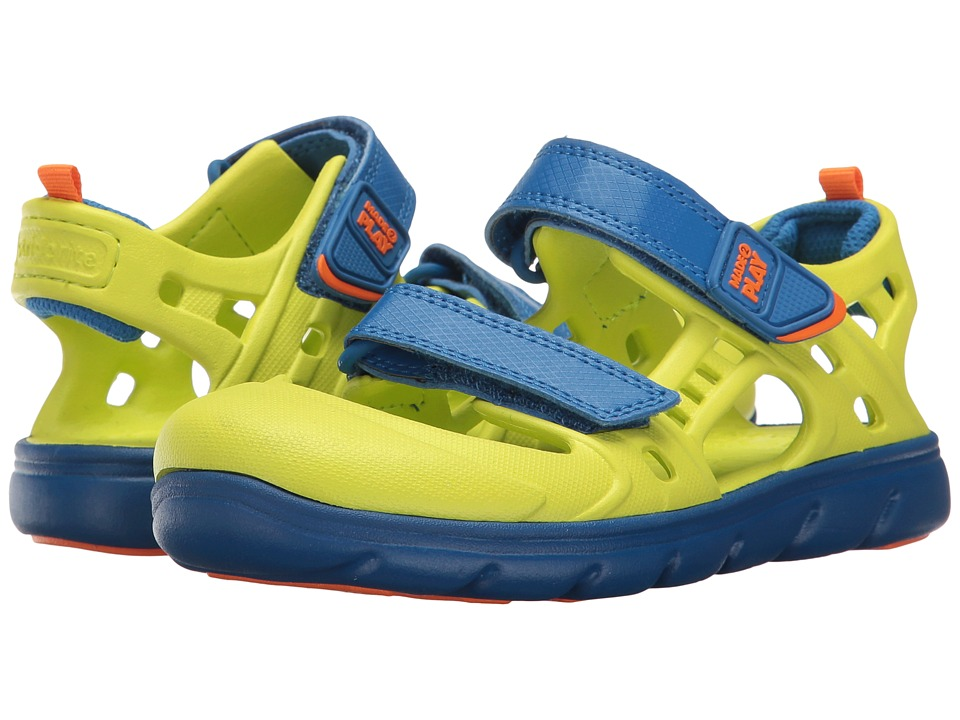 Stride Rite Made 2 Play Phibian (Little Kid) (Lime) Boys Shoes