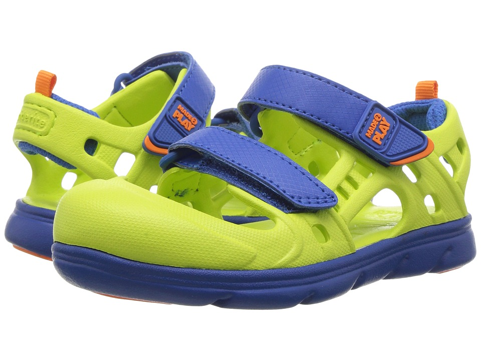 Stride Rite - Made 2 Play Phibian (Toddler) (Lime) Boys Shoes