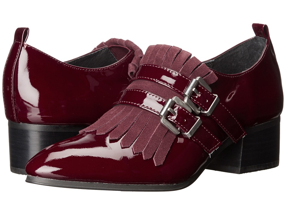 Shellys London - Salisbury (Burgundy) Women's 1-2 inch heel Shoes